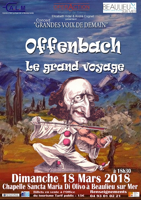 Offenbach, le grand voyage