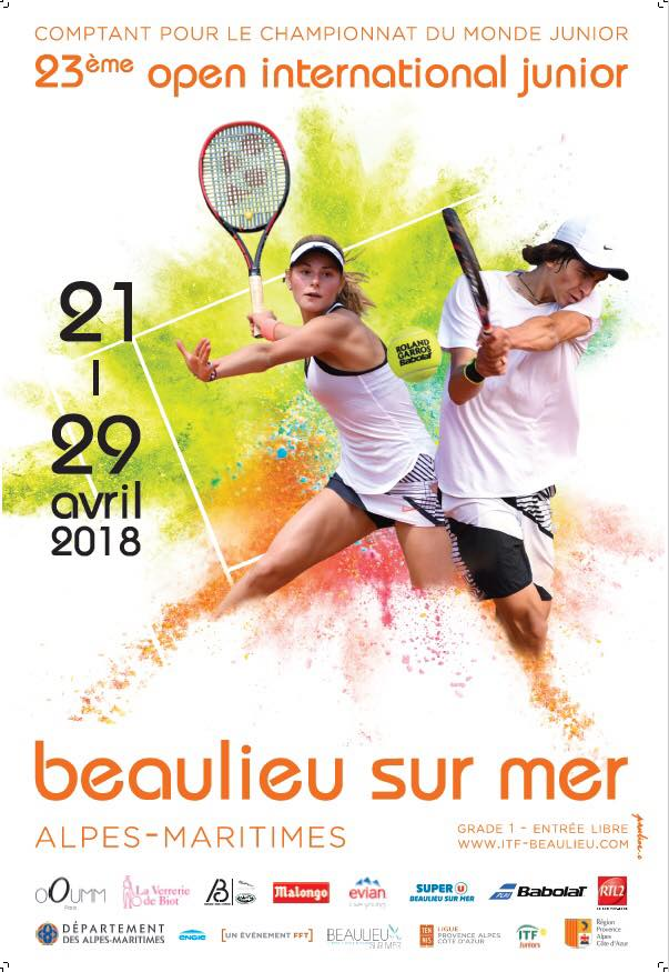Tournoi ITF Junior 2018