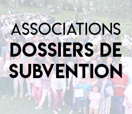 Dossier subvention associations 2020