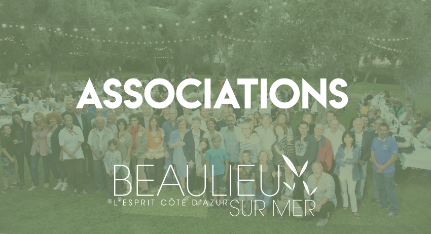 Associations à Beaulieu-sur-Mer
